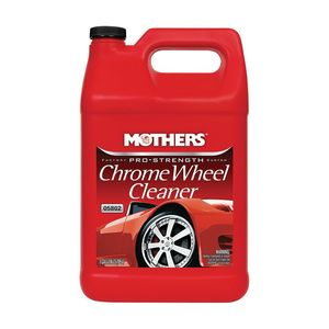Mothers® 07817505802 05802 Chrome Wheel Cleaner, 1 gal Can, Clear, Liquid