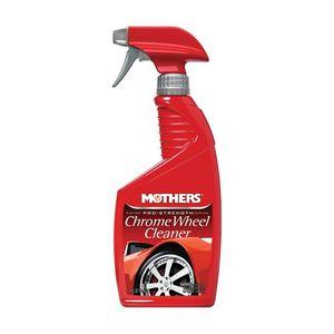 Mothers® 07817505824 05824 Chrome Wheel Cleaner, 24 oz Spray Bottle, Clear, Liquid
