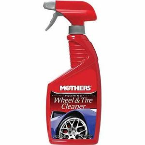 Mothers® 05924 05924 Foaming Wheel and Tire Cleaner, 24 oz Spray Bottle, Liquid, Perfume, Yellow