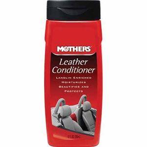 Mothers® 06312 06312 Leather Conditioner, 12 oz Bottle, Liquid, Coconut, White, Beige
