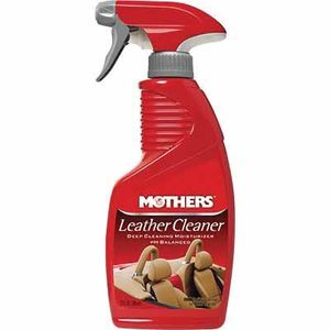 Mothers® 06412 06412 Leather Cleaner, 12 oz Spray Bottle, Liquid, Citrus, Off-White