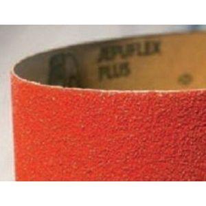 Mirka® 44-625-060 44625060 44 Series Grip-On Sanding Belt, 75 ft L x 6 in W, P60 Grit, Maroon