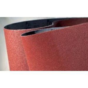 Mirka® 57-3-24-080T 57-3-24-080T 57 Series Sanding Belt, 24 in L x 3 in W, 80 Grit, Maroon
