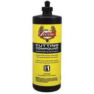 Presta Products 131432 131432 Cutting Compound, 32 oz Bottle, White