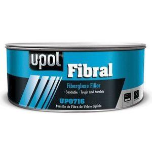 U-POL UP0753 UP0753 Fiberglass Filler, 600 mL Can, Yellow, Fibrous/Paste