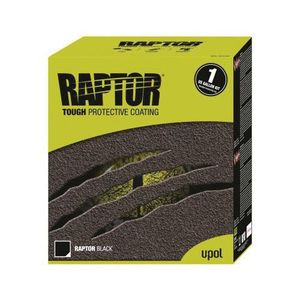 U-POL UP0820 UP0820 National Rule Raptor Kit, Black, 3:1 Mixing, 125 sq-ft Coverage, National Rule