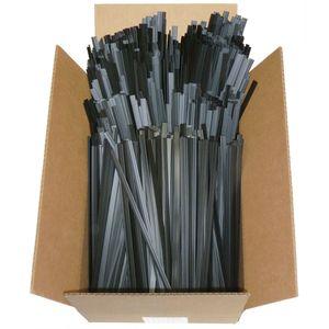 R02-04-08-BK Welding Rod, 12 in L x 1/16 in THK, Flat, Polypropylene, Black