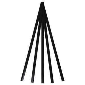 Polyvance R04-04-01-BK R04-04-01-BK Welding Rod, 12 in L x 3/8 in W x 1/16 in THK, Flat, LDPE, Black