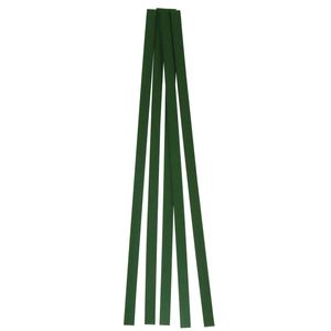 R12-04-01-GN Welding Rod, 12 in L x 3/8 in W x 1/16 in THK, Flat, HDPE, Green