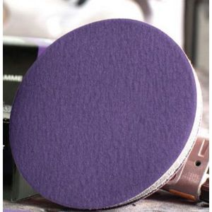 USC® 990000 990000 Sanding Disc, 3 in Dia, P40 Grit, Film Backing, Wet/Dry, Hook and Loop Attachment