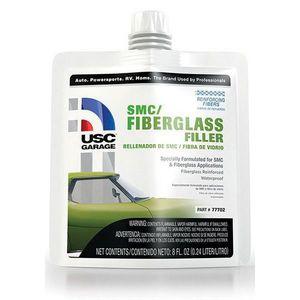 USC® 77702 77702 SMC/Fiberglass Filler, 8 oz Pouch, Gray-Green, Liquid