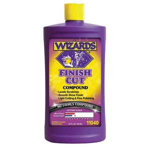 WIZARDS® 11040 11040 One Step Compound, 32 oz Bottle, High Gloss, Off-White, Liquid
