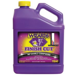 WIZARDS® 11041 11041 One Step Compound, 1 gal Bottle, High Gloss, Off-White, Liquid
