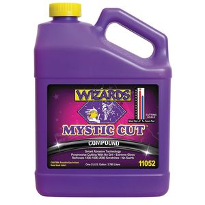 WIZARDS® 11052 11052 Smart Abrasive Buffing Compound, 1 gal, Off-White, Liquid