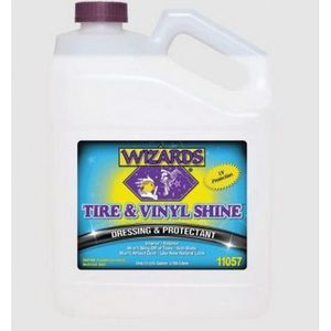WIZARDS® 11057 11057 Dressing and Protectant, 1 gal, White, Liquid