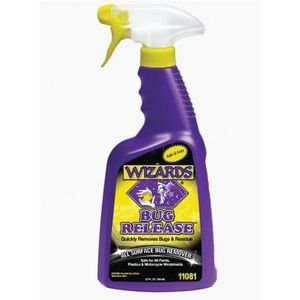WIZARDS® 11081 11081 All Surface Bug Remover, 22 oz Spray Bottle, Yellowish