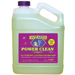 WIZARDS® 11087 11087 All Purpose Cleaner and Degreaser, 1 gal Yellowish Brown