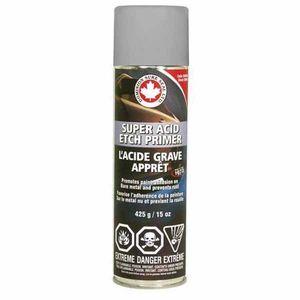 DOMINION SURE SEAL 24010 24010 Super Acid Etch Primer, 425 g Aerosol Can, Gray