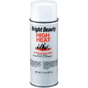 Dupli-Color BH204 Bright Beauty High Heat Spray Paint; High Heat White; 11 oz. Aerosol;