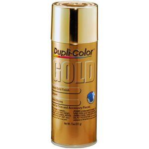 Dupli-Color GS100 Automotive Metallic Coating; Gold; 11 oz. Aerosol