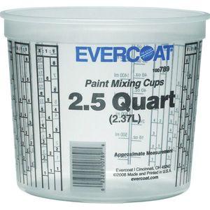 EVERCOAT® 100789 100789 Paint Mixing Cup, 2.5 qt