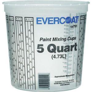 EVERCOAT® 100791 100791 Paint Mixing Cup, 5 qt