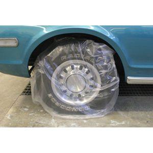 "High Teck Products WM50 Plastic Wheel Maskers, Size: 45"" X 40"", 50/pkg"