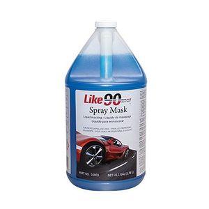 Like90™ 10003 10003 Spray Mask, 1 gal Bottle, Blue, 4 to 6 cars per gal Coverage, <60 g/L VOC
