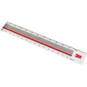 3M 55404 55404 Replacement Ruler, Use With: Wheel Weight System, Universal Cutting Tool, PN99473 Wheel Weights