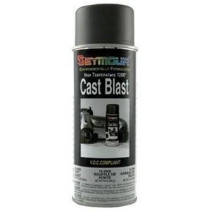 SEYMOUR® 16-2668 16-2668 Heat Resistant Spray Paint, 16 fl-oz Aerosol Can, Cast Blast, 15 sq-ft Coverage