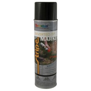 SEYMOUR® 20-663 20-663 Inverted Tip Fast Drying Water Based Marking Paint, 20 fl-oz Aerosol Can, Black