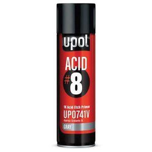U-POL UP0741V UP0741V ACID#8 Acid Etch Primer, 450 mL, Light Gray, 48.4 sq-ft Coverage