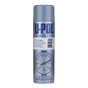 U-POL UP0830 UP0830 Etch Primer, 500 mL Aerosol Can, Gray, Liquid