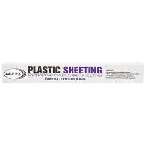 Value Teck 36112N 112 Sheeting, 12 ft W x 400 ft L, Plastic