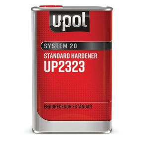 U-POL UP2323 UP2323 National Rule Standard Hardener, 1 L Tin, Clear, Liquid, Use With: 2K Primers and Clearcoats