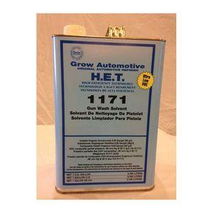 Grow Automotive 1171-01 1171-1 Low VOC Gunwash Solvent, 1 gal, Waterbourne (Y/N): No