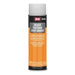 SEM 39793 39793 Chip Guard, 20 oz Aerosol Can, Opaque, Heavy, Medium-Coarse Texture