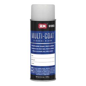 SEM 61003 61003 Aerosol Blank, 16 oz, Use With: Enamel, Lacquer, Vinyl Resin