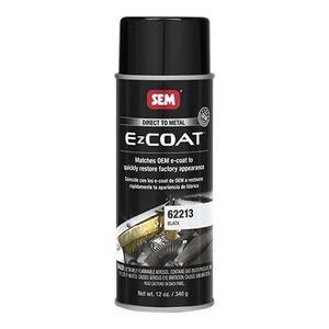 EZ Coat™ 62213 62213 Direct-To-Metal Coating, 16 oz, Black, 13 sq-ft at 1 mil DFT Coverage, 30 min Dry Curing