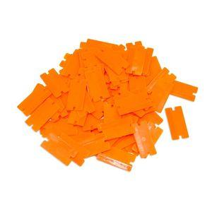 AES Industries™ 87606 Plastic Razor Blades - 100pc per box