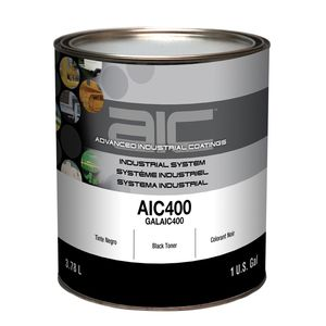 Sherwin-Williams Paint Company AIC40016 AIC400 Mixing Toner, 1 gal Can, Black
