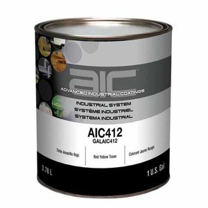 Sherwin-Williams Paint Company AIC41216 AIC412 Mixing Toner, 1 gal Can, Red Yellow
