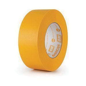 American® 08714300308 OM3655 High Temperature Premium Grade Masking Tape, 54.8 m x 36 mm, 7.1 mil THK