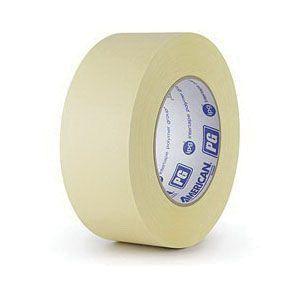 American® 08714300311 27-1 High Temperature Premium Grade Masking Tape, 54.8 m x 24 mm, 7.3 mil THK, Beige