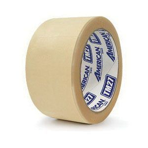 American® 07792200268 TM27-1 Specialty Trim Masking Tape, 50 mm x 10 mm, 7.6 mil THK, Natural