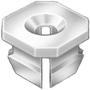 AUVECO 11691 #8/#6 SCREW NYLON NUT - GM