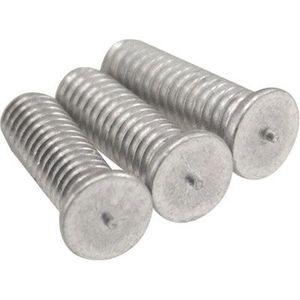 Dent Fix Equipment DF-900PMSHORT DF-900PMSHORT Short Stud Pin, M4 x 12 mm, Alloyed Magnesium