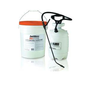 DeVilbiss 803491 803491 Automotive Refinishing Dirt Control Floor Coat, 5 gal, Liquid, Slight Blue