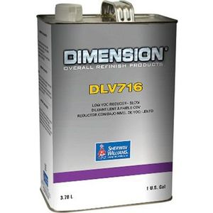 Sherwin-Williams Paint Company DLV71616 DLV716-1 Reducer, 1 gal Can, Liquid, Slow Speed/Temperature
