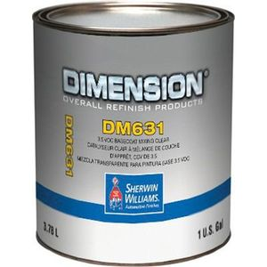 Sherwin-Williams Paint Company DM63116 DM631-1 5 VOC Mixing Toner, 1 gal Can, HS BC Mix Clear